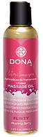 Массажное масло DONA SCENTED MASSAGE OIL - FLIRTY
