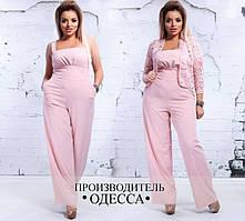 Комбинезон женский большого размера Производитель Одесса недорого Украина Россия интернет-магазин ( р. 48-56 )
