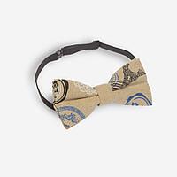 Маленькая Bow Tie House бабочка с узорами и Эйфелевой башней 07101