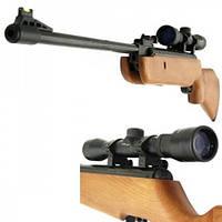 Пневматической винтовки Crosman Quest 1000X C1K77X С оптикой 4x32