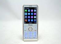 Кнопочный мобильный телефон iPhone i6, телефон на 2 сим карты, мобильный телефон iphone i6 кнопочный