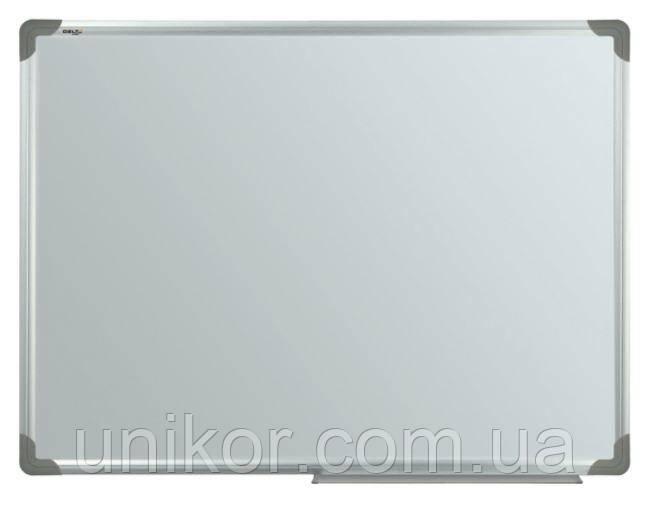 Доска магнитная сухостираемая, 90*120 см., алюминиевая рамка. Delta by Axent