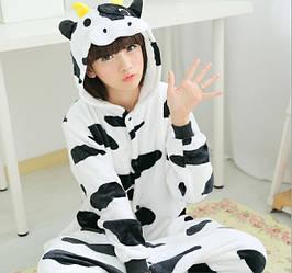 Пижама кигуруми женская и мужская Корова