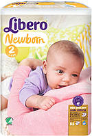 Подгузники Libero Newborn 2 Mini (3-6 кг) 88 шт.