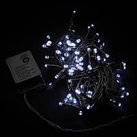 Гирлянда внутренняя DELUX STRING С 100LED 5m белый/черн IP20