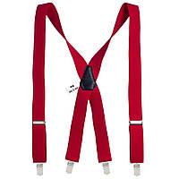 Подтяжки Bow Tie House мужские красные 3.5 см X 07816