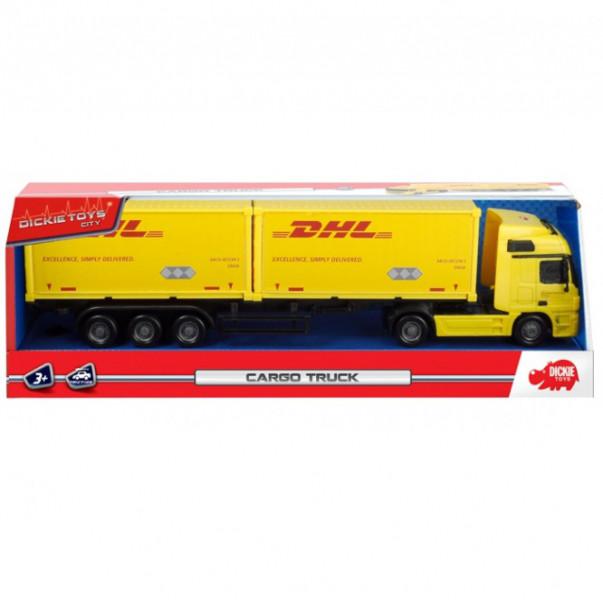 DICKIE Грузовик международные перевозки DHL (3746005)