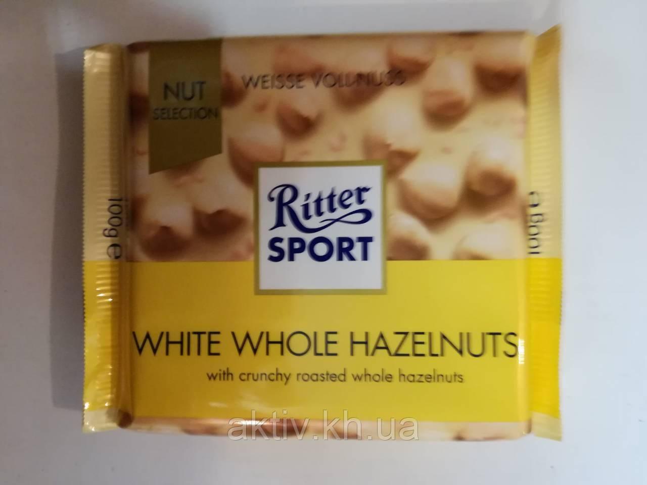 Ritter Sport white whole hazelnuts 100 гр
