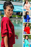 """Женские блузки """"Элен"""" р.42-52, для офиса, школы, нарядные"""