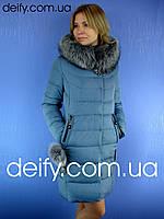 Зимний женский пуховик Peercat 5135 (S-2XL) Пальто пуховики Symonder, Meajiateer, Hailuozi, Visdeer, Kapre