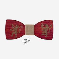 Деревянная Bow Tie House бабочка Ланнистеры Игры Престолов 07883