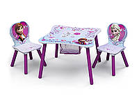 Delta Набор детский стол и стулья холодное сердце Table and Chair Set With