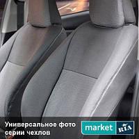 Модельные чехлы на сиденья Fiat Doblo 2001-2005 (Virtus) Компл.: Передние (1+1)
