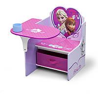 Delta Письменный стол парта детская холодное сердце Chair Desk With Storage