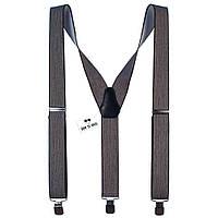 Подтяжки Bow Tie House мужские коричневые имитация размытия 08140
