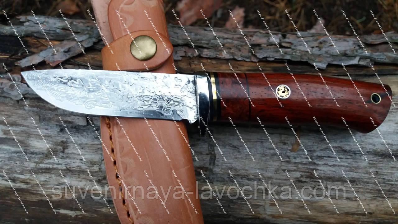 Нож охотничий DKY - Fenix ( Дамаск )
