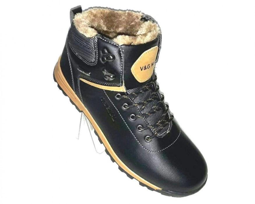 Теплые мужские ботинки, фото 1