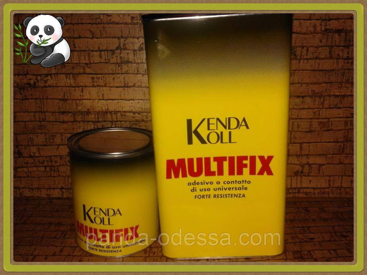 """Клей для пробковых панелей и бамбуковых обоев """"Multifix"""", 0.85 кг"""