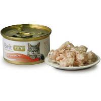 Brit Care Cat CHICKEN BREAST 80 г - консервы для кошек (куриная грудка)