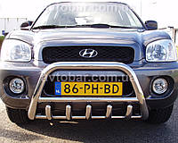 Кенгурятник на Hyundai Santa Fe (2001-2006) Хюндай Санта Фе PRS