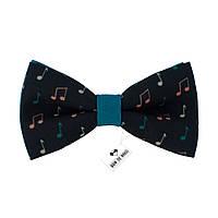 Бабочка Bow Tie House стильная с нотками - габардин 08337