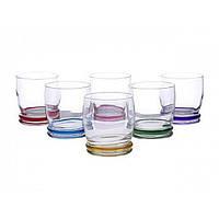 "Набор стаканов стекло ""Luminarc. Cortina Rainbow"" (6шт) 310мл 04104 / L3139"