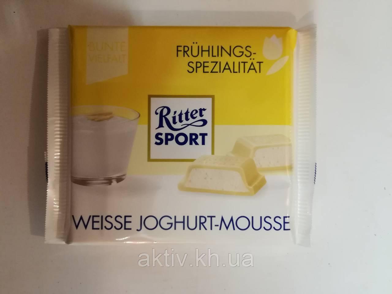Ritter Sport wеisse joghurt mousse 100гр