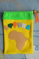 Игрушки 3d пазлы из фетра животные Африканские., фото 5