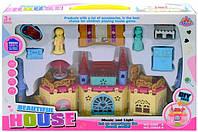 Домик для кукол с мебелью и фигурками 3088