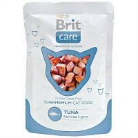 Brit Care (Брит Кеа) Cat TUNA pouch 80г - влажный корм для кошек (тунец)