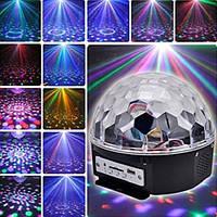 Диско шар LASER XXB 01/M6 + BT проектор, светомузыка диско шар Magic Ball Music Super Light