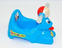 """Горшок детский (10) - цвет голубой """"Bugs Bunny"""" """"K-PLAST"""", фото 1"""
