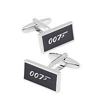 Запонки Bow Tie House - агент 007 James Bond  08731