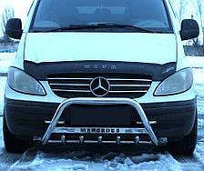 Кенгурятник WT на Mercedes Vito 639 (2004-2015) Марседес Вито PRS