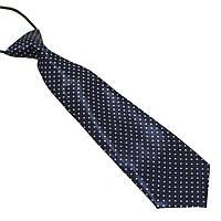 Галстук Bow Tie House темно-синий в белый горошек детский 08755