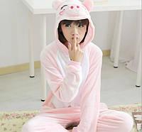 Пижама кигуруми женская. Жіноча піжама | Свинка