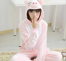 Пижама кигуруми женская свинка