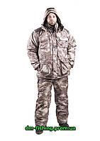 Костюм зимний  для охоты и рыбалки Атака Серая -25С