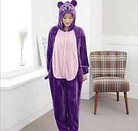 Пижама кигуруми женская. Жіноча піжама | Мишка фиолетовый