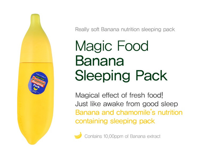 TONYMOLY Banana Sleeping Pack
