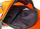 Рюкзак-сумка Jungle King оранжевая, фото 7