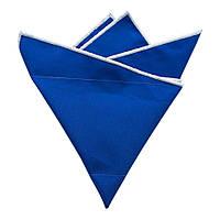 Платок Bow Tie House синий хлопковый с белой окантовкой 09287