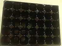 Кассета/ касета/ ВЫСОКАЯ для рассады ФР на 35 ячеек, 44*33*10см