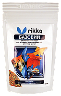 Корм для рыб RIKKA Базовый гранулы 100мл/35гр