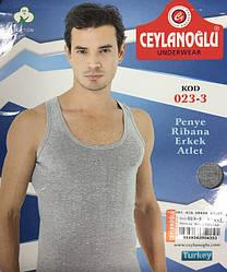 Чоловічі якісні майки різних турецьких виробників з бавовни