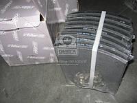 Накладка гальмівна (компл. на вісь) 410х223 1-й рем. MAN F90,F2000,TGA, MB ACTROS, (в-во RIDER)