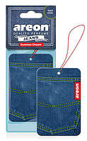 Ароматизатор Areon Jeans Summer Dream (Сухой лист)