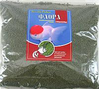 Универсальный корм для рыб ФЛОРА №1 гранулы 1000гр (1-2мм)