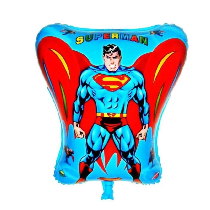 Воздушный шар супермен 54×45 см