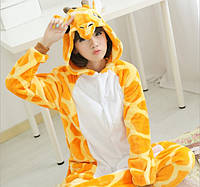 Пижама кигуруми женская и мужская Жираф